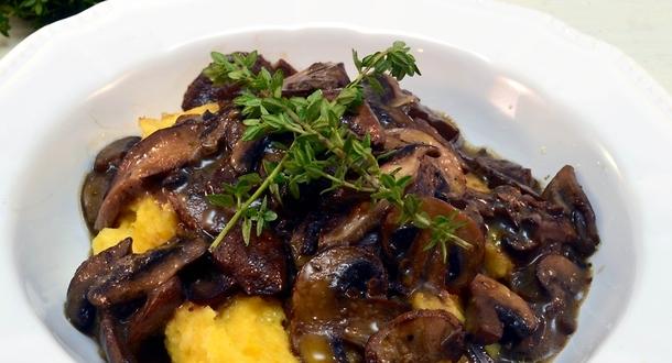Говядина с грибами шитаки рецепт