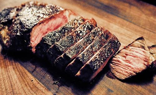 как готовить стейк из мраморной говядины на сковороде